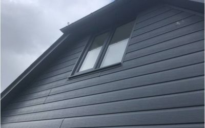 Grey foretex cladding
