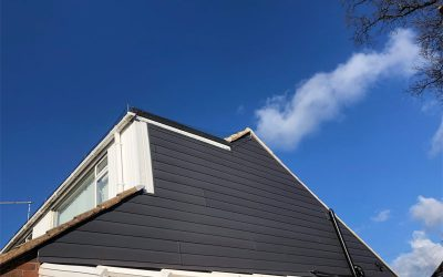 Storm grey cladding