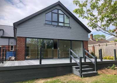 Cladding, Patio-doors and Decking